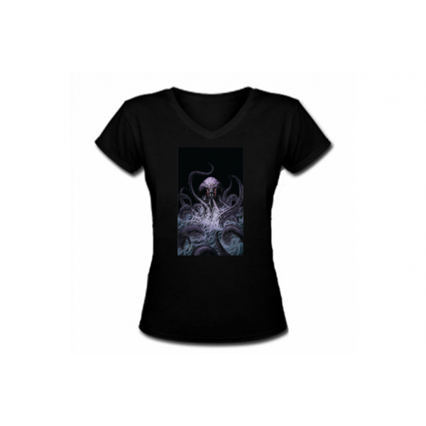 Nat Jones Kraken V-Neck T-Shirt